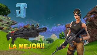 PARTIDAZA CON FINAL SUPER INTENSO!! - Fortnite Battle Royale Gameplay - JONNI93