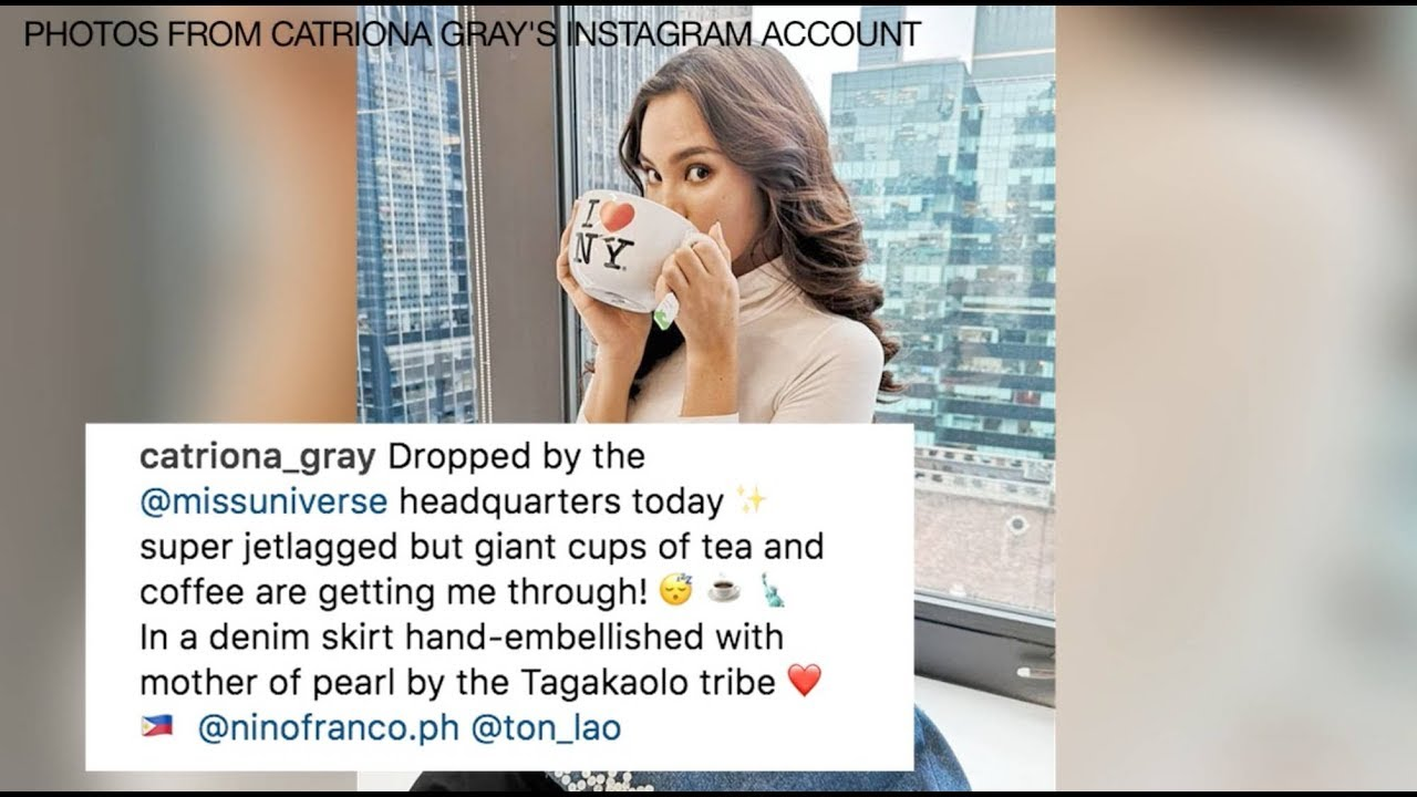 Miss Universe Catriona Gray talks friendships with co-contestants, living in New York