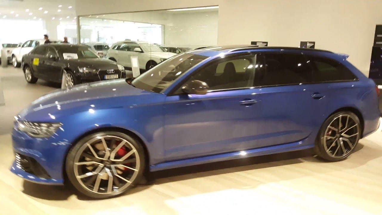 Ascari Blue Audi Rs6 Performance In 4k Ultra Hd Youtube