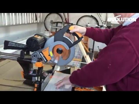 Evolution Rage3-DB Mitre Saw / Miter Saw : Garden Decking Project!