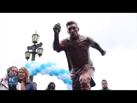 Statue of Lionel Messi inaugurated in Buenos Aires