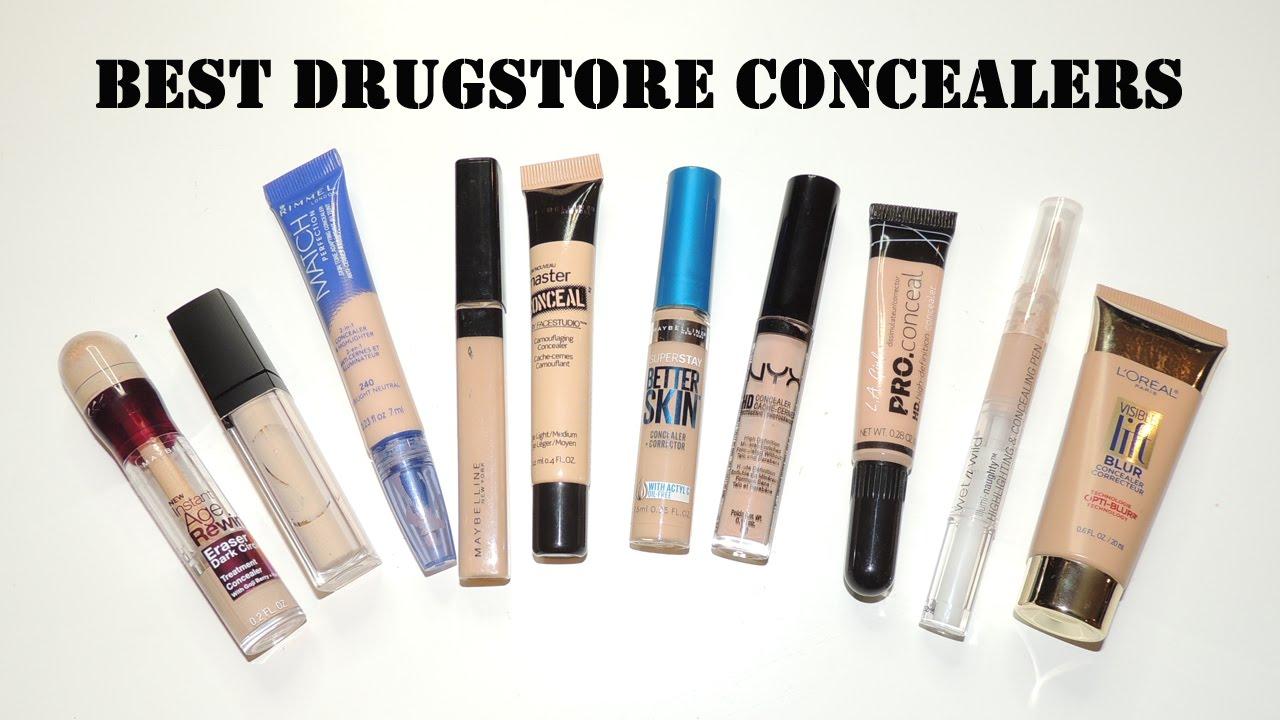 Best drugstore concealers for under eye youtube