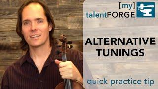 alternative tunings - quick tip
