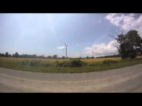 Wind Turbine Timelapse