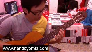 你就不要想起我 Ni Jiu Bu Yao Xiang Qi Wo - HEBE TIEN 田馥甄 - Fingerstyle Guitar solo