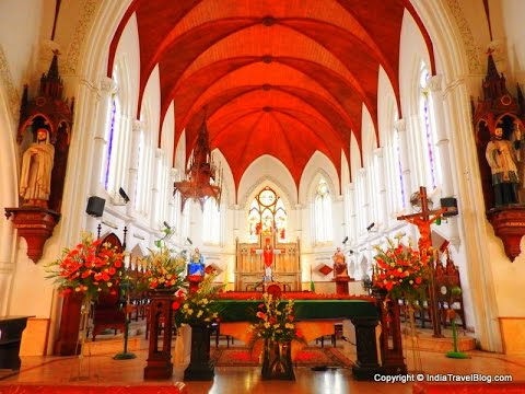 Santhome Cathedral Basilica Church | Santhome Church, Chennai