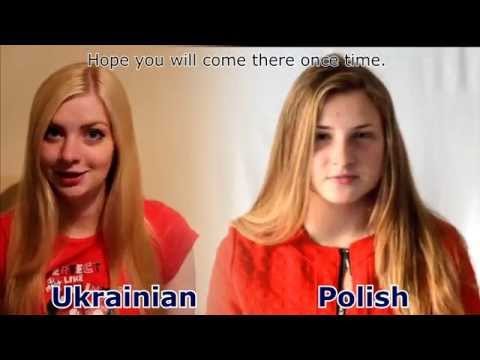 Polish vs Ukrainian: slavic languages battle