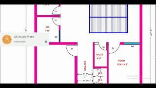 House Plan 34' X 49' / 1666 Sq.ft / 185 Sq.yds / 155 Sq.m