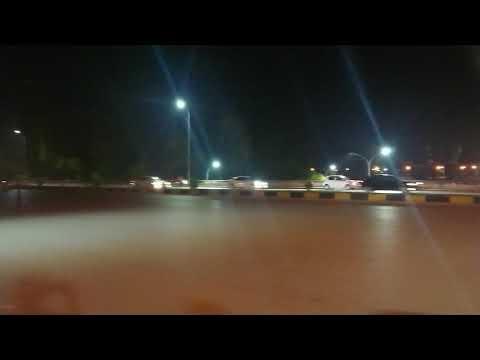 Night view of Zero Point Islamabad Interchange