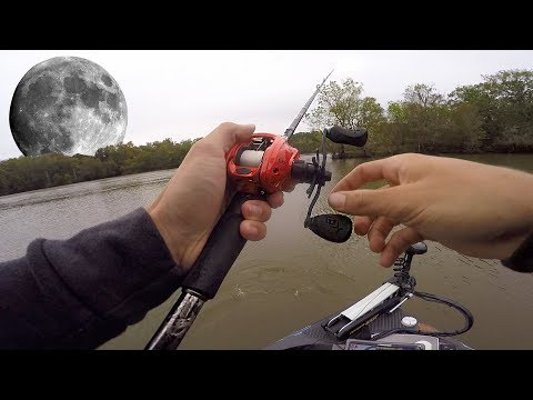 FISHING After A Full Moon (Bass Fishing Tips)