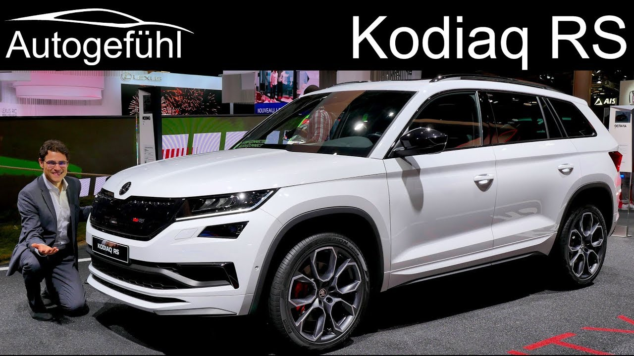 skoda kodiaq rs the sportiest and most expensive skoda suv vrs review autogef hl youtube. Black Bedroom Furniture Sets. Home Design Ideas