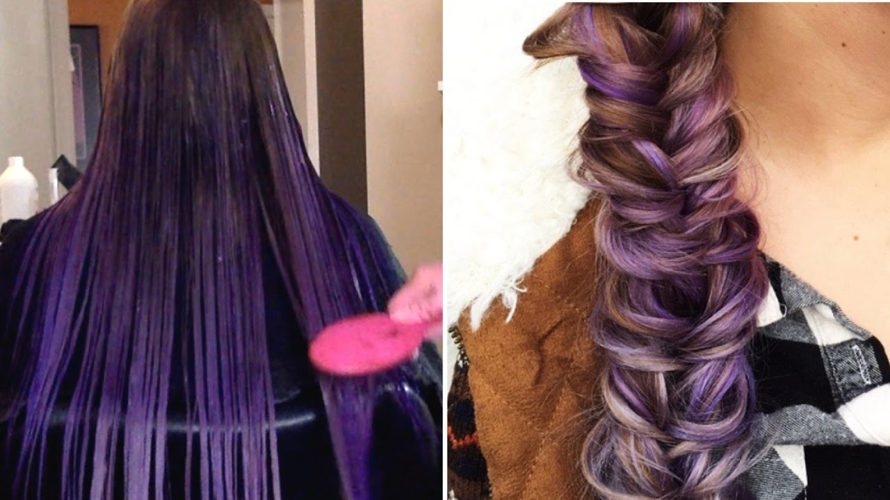 How To Perfect Lavender Ombre Natural Look With An Unnatural
