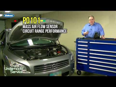 Maintenance Minute -Nissan Maxima Mass Air Flow Sensor Codes