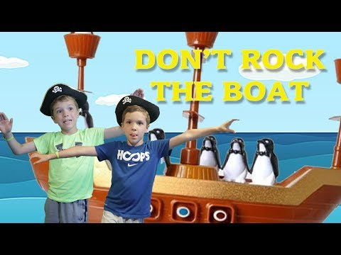 Twin vs Twin:  Don't Rock the Boat! Family Fun Play Game for Kids