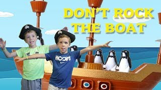 Twin vs Twin:  Don't Rock the Boat! Family Fun Game for Kids