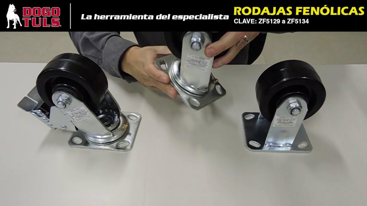 Rueda pivotante 80 fen/ólica-8130973 alta temperatura