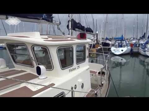 Fisher 25 Motor Sailor - Boatshed - Boat Ref#265507