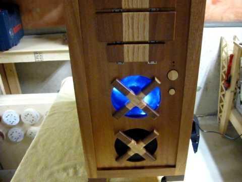 Wooden Computer Case Tour 1 - YouTube