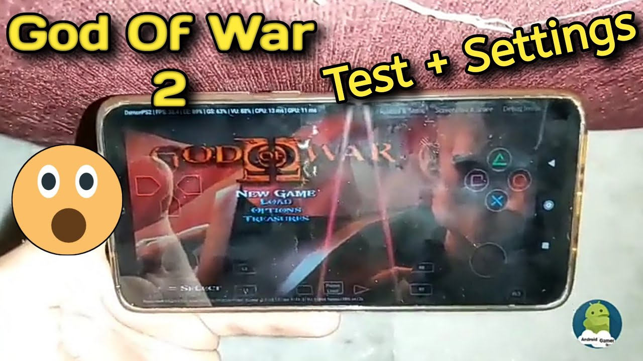 Download God Of War 2 Test On Redmi Note 8 Pro    Updated Damon PS2
