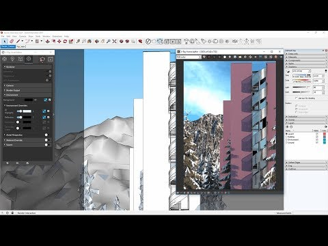 V-Ray For Sketchup – Quick Start: Environmental Lighting & Aerial Perspective