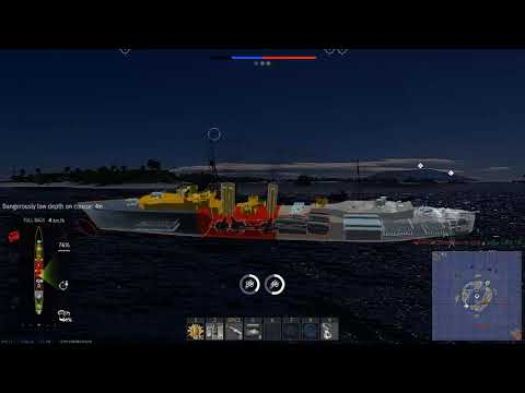 Tribal-Class Destroyer : Naval Forces Pre-Beta Testing
