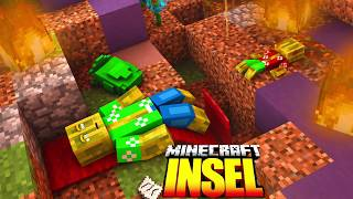 Minecraft Insel - Fanart/SpeedArt Chaosflo44 {3D ANIMATION} [HD]