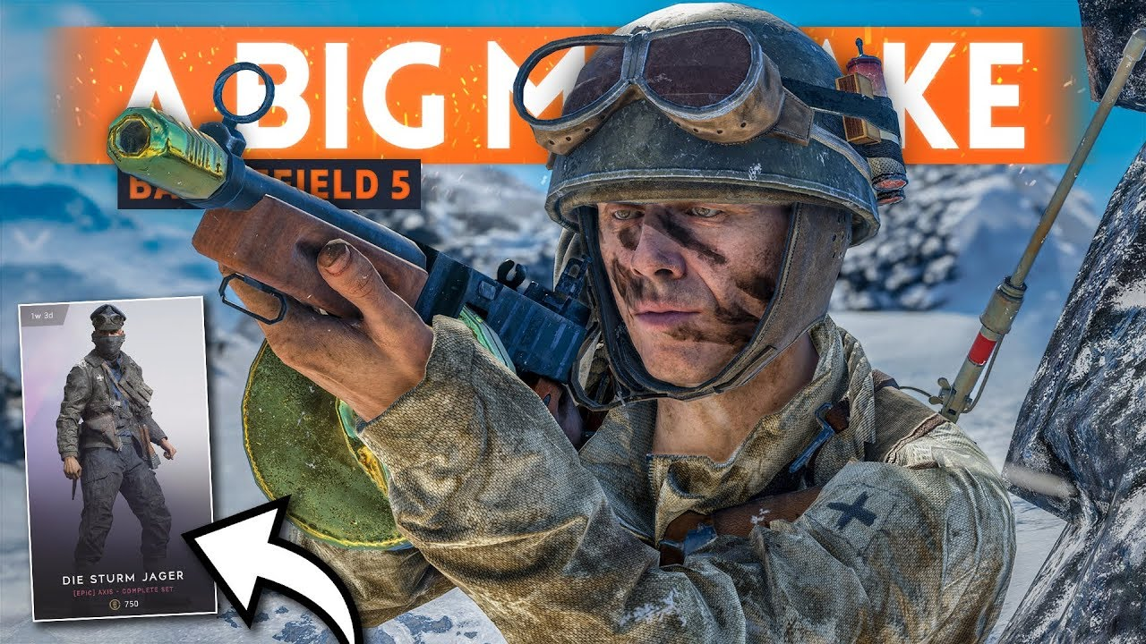 THIS IS A BIG MISTAKE... Battlefield 5