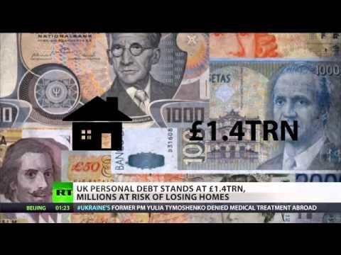 BBC Silent - Wonga wins! UK personal debt at £1.4 TR