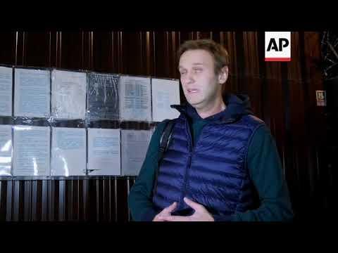 Opposition leader Alexei Navalny released from jail after 50 days under arrest