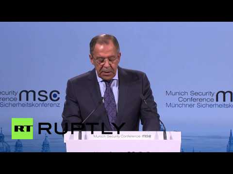 Germany: Watch Lavrov blast western powers for escalating 'every stage' of Ukraine crisis