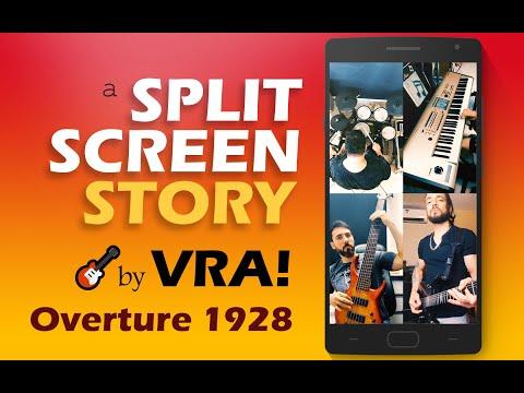 Dream Theater - Overture 1928  (Split-Screen Story) - VRA! *Made for Mobile*