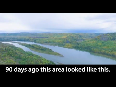 Unrestrained devastation of the Peace River for unneeded Site C dam