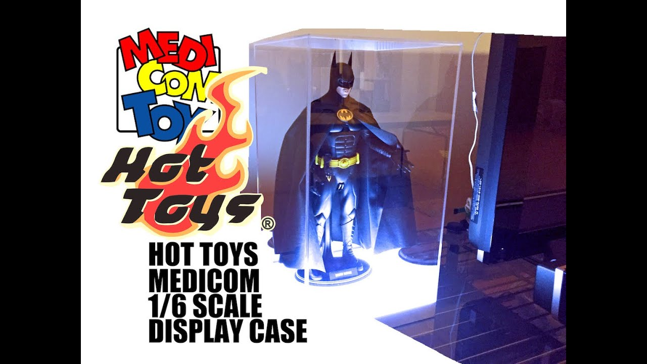 Hot Toys Display Case Lightup 2016 Youtube
