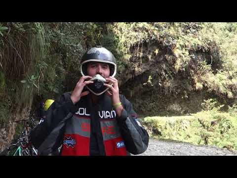 Carretera de la Muerte en bici La Paz-Yungas