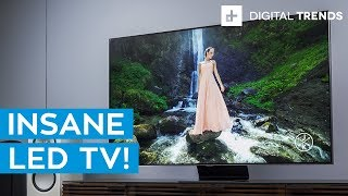 Samsung Q90 4K LED TV Hands-On: Unboxing and Setup