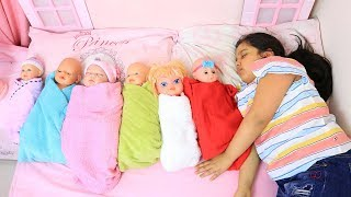 shfa Pretend Play with Dolls, Are you sleeping brother John by shfa