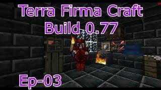 """Tutorial Terra Firma Craft - EP3 """"Primeiras ferramentas e armas."""" (Minecraft 1.6.2 Português)"""