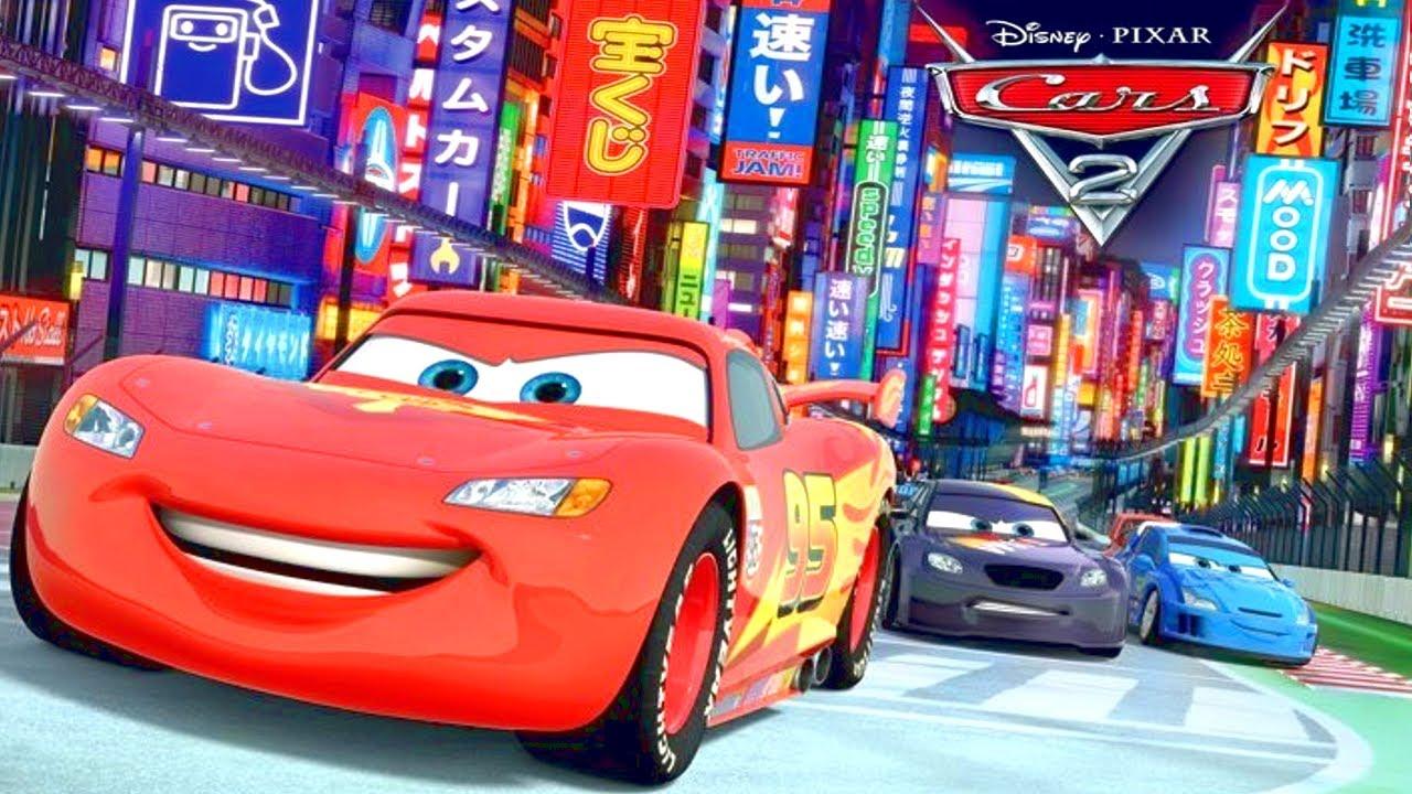 Disney Pixar Cars Mural Wallpaper Cars 2 Disney Car Toys Youtube Cars 2 Youtube