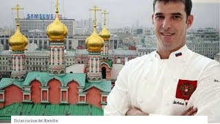 Moscú - En las cocinas del Kremlin
