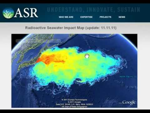 fukushima radiation pacific ocean map Fukushima Radioactive Ocean Impact Map 11 11 11 Update Youtube fukushima radiation pacific ocean map