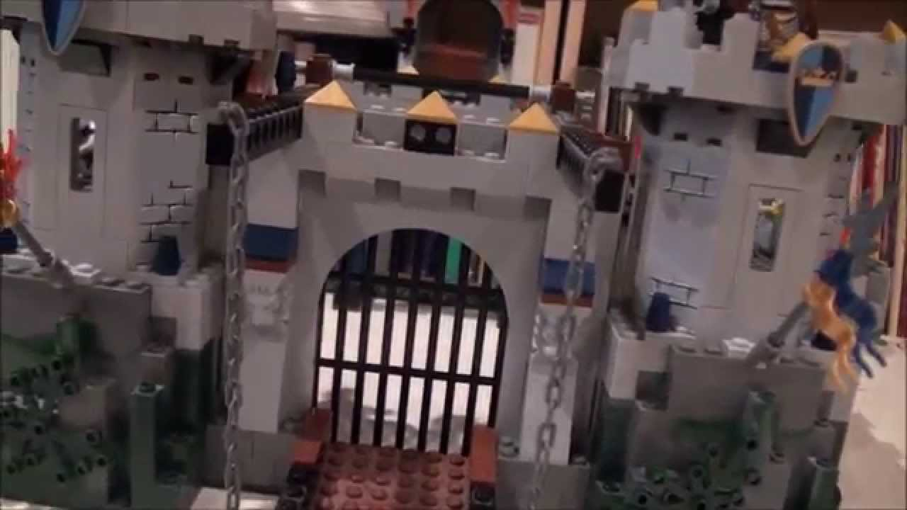 Lego Review Lego Castle Kings Castle Siege 7094 Youtube