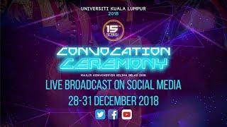 Majlis Konvokesyen UniKL Kelima Belas 2018 (Sesi 8, UniKL MIMET, UniKL MIIT, UniKL MIAT)