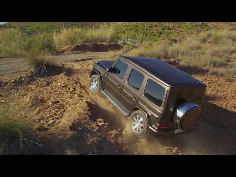 The new Mercedes-Benz G-Class - Driving Scenes
