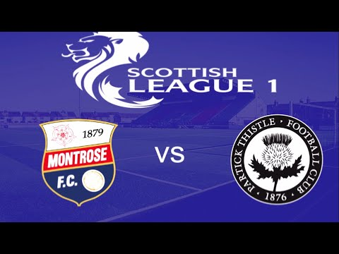 Montrose Partick Thistle Goals And Highlights