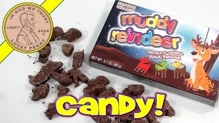 Muddy Reindeer Chocolate Covered Gummi Candy -  Tasty!