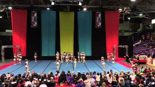 Laurier Cheerleading PCA Nationals 2014