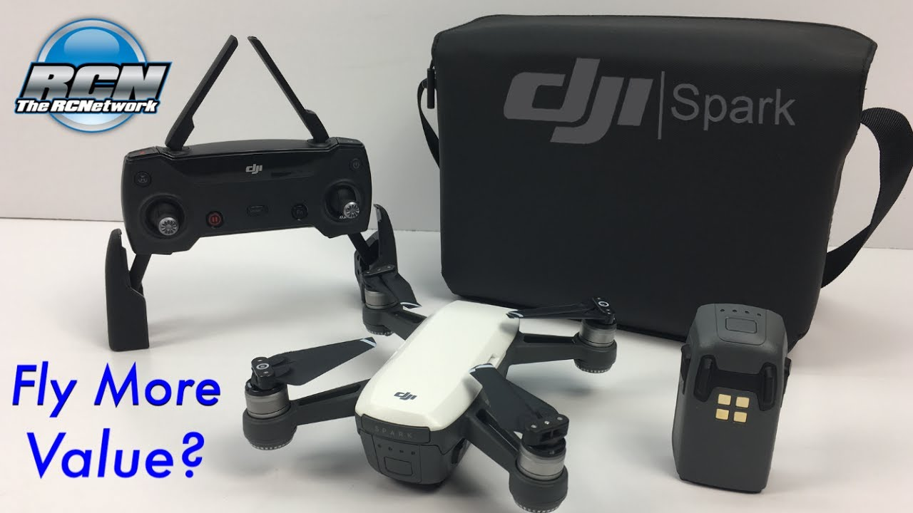 dji spark fly more combo unboxing and value youtube. Black Bedroom Furniture Sets. Home Design Ideas