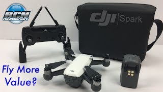 DJI Spark Fly More Combo - Unboxing and Value