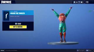 Praise The Tomato - Fortnite Battle Royale (Emote)
