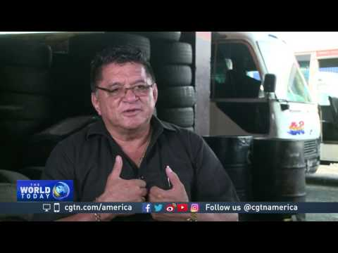Businessman stands up to gangs in El Salvador